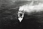 Japanese aircraft carrier Hiryu adrift and burning on 5 June 1942 (NH 73065).jpg