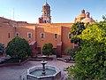 Jardín en Templo y exconvento de San Agustín de Querétaro.jpg