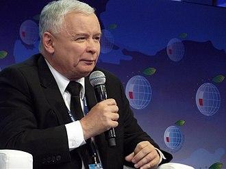 Jarosław Kaczyński - Jaroslaw Kaczynski during XIII Economic Forum in Krynica-Zdrój