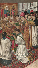 Saint Vincent Ordained by Saint Valerius