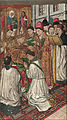 Jaume Huguet - Saint Vincent Ordained by Saint Valerius - Google Art Project.jpg