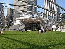 jay pritzker pavillion millenium park chicago