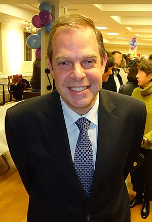 Bill Charlap - Image: Jazz pianist Bill Charlap after a recital