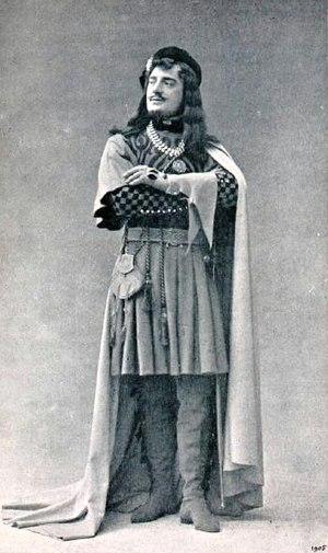 La reine Fiammette - Jean Périer as Giorgio d'Ast