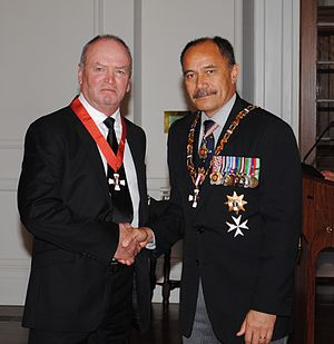 Graham Henry - Henry with Jerry Mateparae in 2012