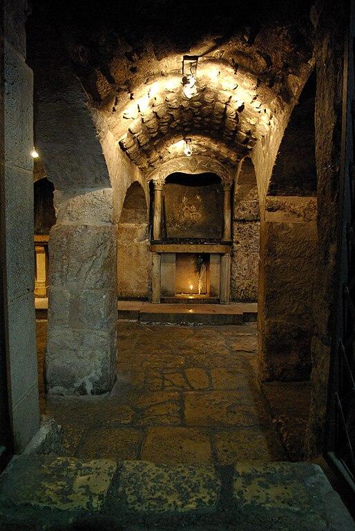 Grabeskirche - das Gefängnis Jesu - vergrößerbar