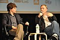 Jesse Eisenberg - David Fincher - The Social Network - 2010 New York Film Festival - 01.jpg