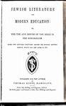 Jewish literature and modern education.pdf