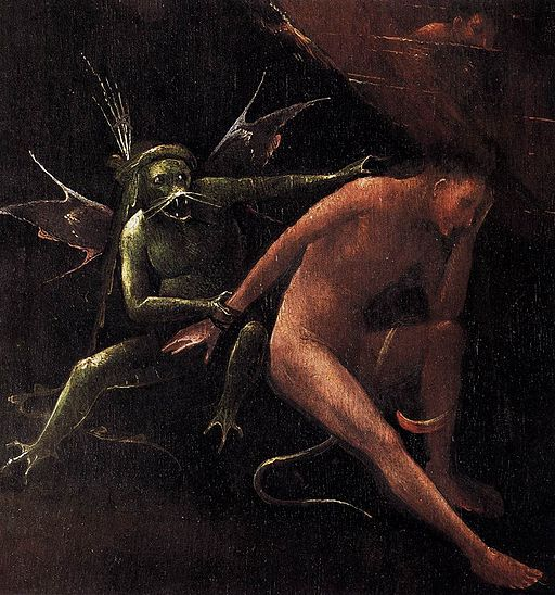 Jheronimus Bosch Hell (detail)