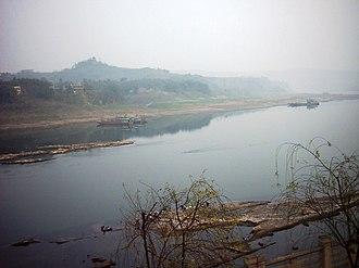 Jialing River - Image: Jialing river