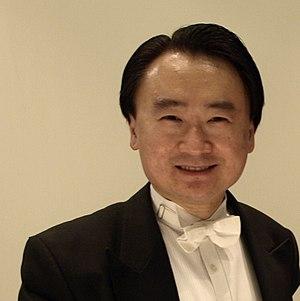 English: Cellist Jian Wang at IFC Hong Kong, w...