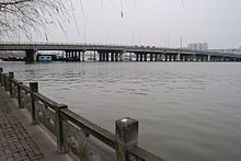 Jiangbei Bridge in Ningbo.jpg