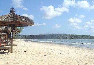 Jimbaran - Image: Jimabaran beach