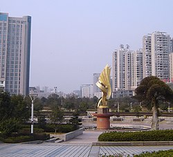 Jinyuan Square (2010 photo)