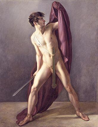 Jean-Eugène-Charles Alberti - Image: Joannes EC Alberti Krijgsman met getrokken zwaard 1808