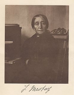 Johanna Mestorf German prehistoric archaeologist and Professor