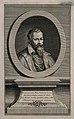 Johannes Sambucus. Line engraving by J. Mansfeld. Wellcome V0005196.jpg