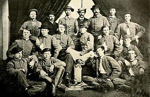 English: Confederate Cavalry Colonel John S. M...