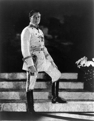 John Charles Thomas - Thomas in costume, 1922