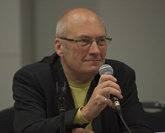 72nd World Science Fiction Convention - John Clute during his Guest of Honour interview.