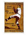 John E Sheridan Pennsylvania Georgetown Baseball c1901.jpg