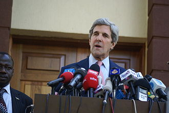 """South Sudanese independence referendum, 2011 - U.S. Senator John Kerry said that the referendum represented a """"new chapter"""" for Sudan."""