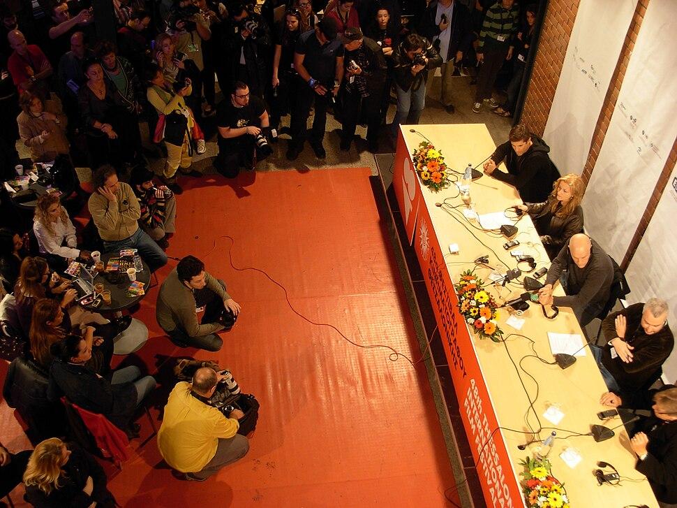 John Malkovich press conference, TIFF 2007