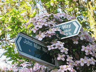 John Muir Way - John Muir Way fingerposts