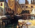 John Singer Sargent - San Vigilio. A Boat With Golden Sail 1913.jpg