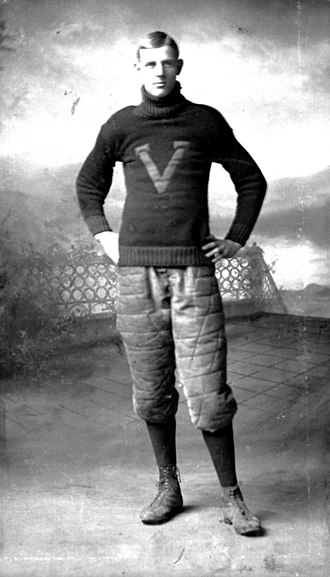 John J. Tigert - Tigert as Vanderbilt football player in 1903