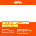 Join Hillary Clinton in Orlando! 14287946.png