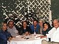 Jorge del Villar con premio Nobel Gabriel García Márquez, Carlos Fuentes, Héctor Aguilar Camín y Ángeles Mastreta.jpg
