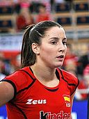 Jose Corral - FIVB World Championship European Qualification Women Łódź January 2014.jpg