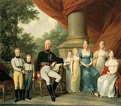 Maria Theresa with her husband and children. (Source: Wikimedia)
