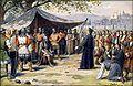 Josef Mathauser - Poselství Pražanů v táboře Žižkově roku 1424.jpg