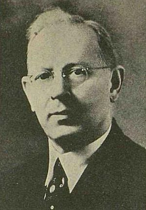 Joseph Fielding Smith - Smith while a member of the Quorum of the Twelve (Ca. 1942)