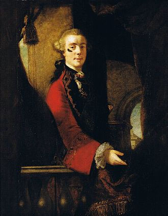 Charles Cathcart, 9th Lord Cathcart - Lord Cathcart by Joshua Reynolds (1753–55)  Manchester Art Gallery