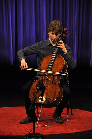 Joshua Roman - Joshua Roman performing in 2011