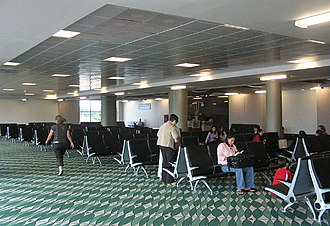 Juan Santamaría International Airport - Image: Juan Santamaría Airport interior 1