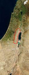 Lage der Wüste