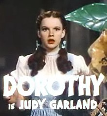 judy garland from the trailer for the 1939 film the wizard of oz