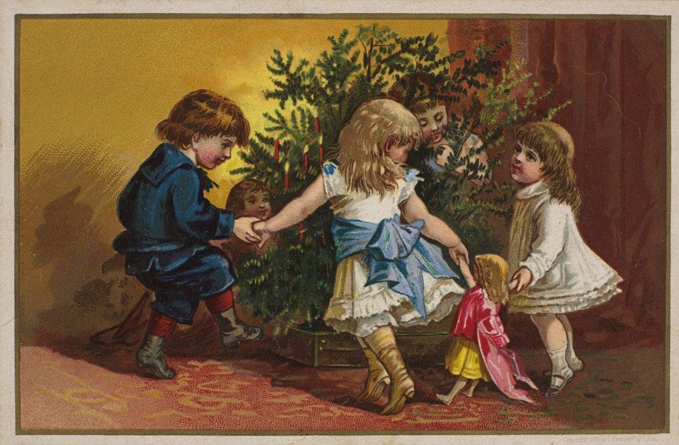Julekort, 1880