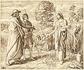 Julius Schnorr von Carolsfeld, Ruth and Boas, 1825, NGA 139262.jpg