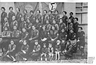 Brazilian Integralism - Departamento Feminino e de Juventude (Women and Youth Department).