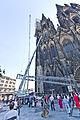 Kölner Dom - Abbau südöstliches Gerüst Nordturm-3004.jpg