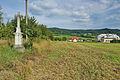 Kříž u cesty k zemědělskému družstvu, Knínice u Boskovic, okres Blansko.jpg