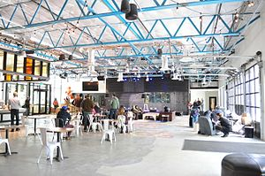 KEXP-FM - Image: KEXP Gathering Space 04