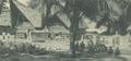 KITLV - 101140 - Kleingrothe, C.J. - Medan - Tomb of a Rajah (left) at Huta Radja on Samosir - circa 1905.tif