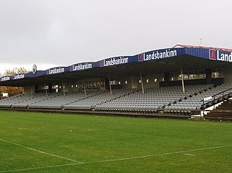 KR-völlur - Image: KR völlur Main Stand