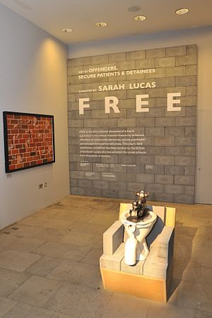 Koestler Trust - FREE, 2012 exhibition of entries to the Koestler Awards curated by Sarah Lucas